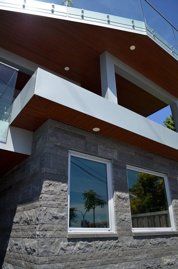 Home built using Reidstone Basalt