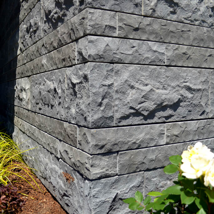 Home built using Reidstone Basalt