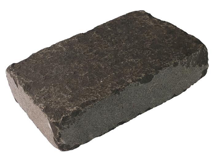 Black Flamed & Tumbled Basalt