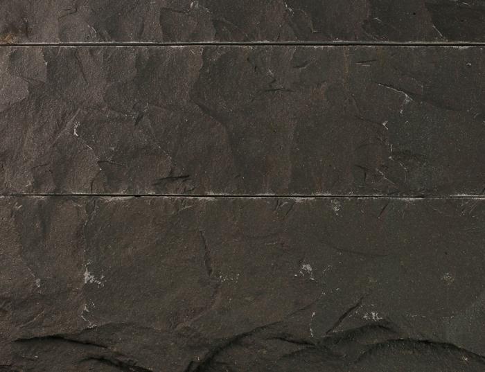 Black Split Face Basalt