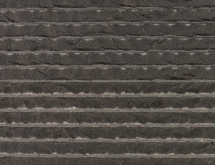 Black Basalt Line Chiseled